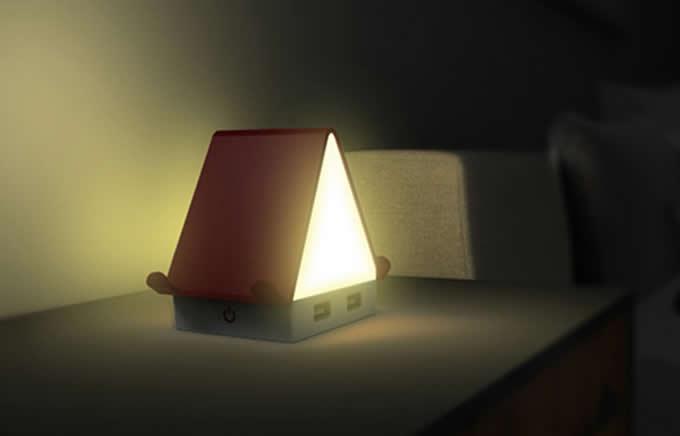 House Shaped Usb Hub Night Light Feelgift