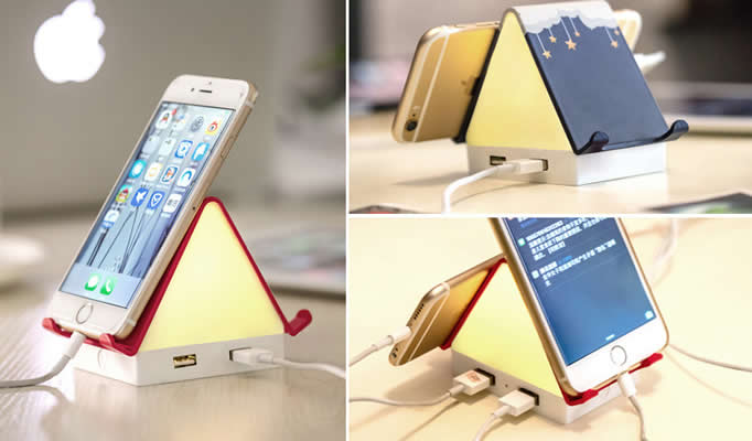 House Shaped USB Hub Night Light