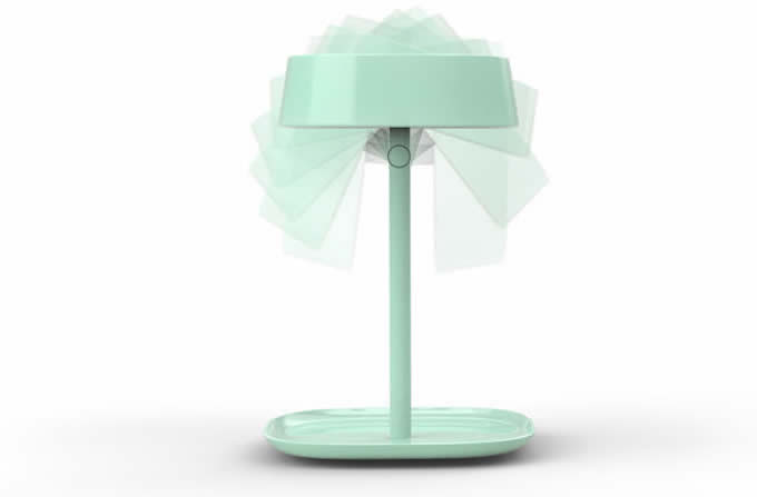 LED Lighted Makeup Mirror Table Lamp