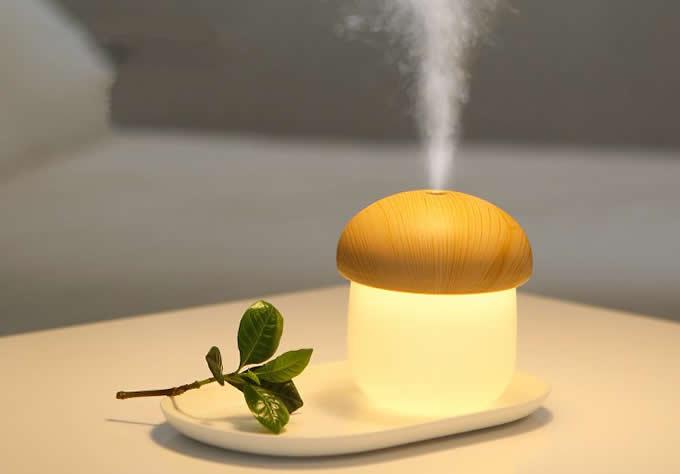 Mushroom Shaped Night Light Humidifier