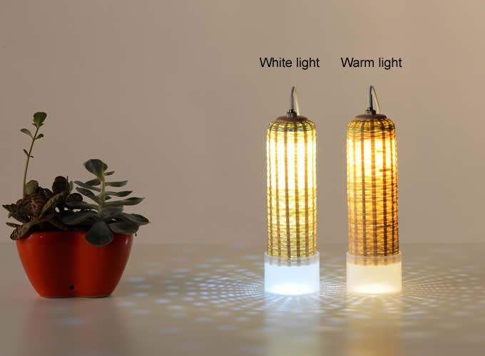 Nature Bamboo Weave Usb Led Night Light Feelgift