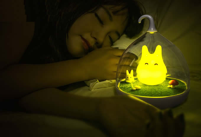 Portable Elf Rechargeable Led Night Light