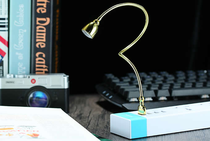 Portable USB Adjustable Flexible  Keyboard LED Light Lamp