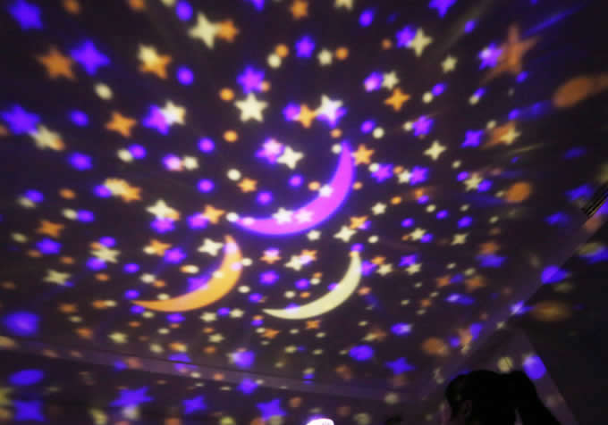 Romantic Rotating  Magic Ball Star Projector
