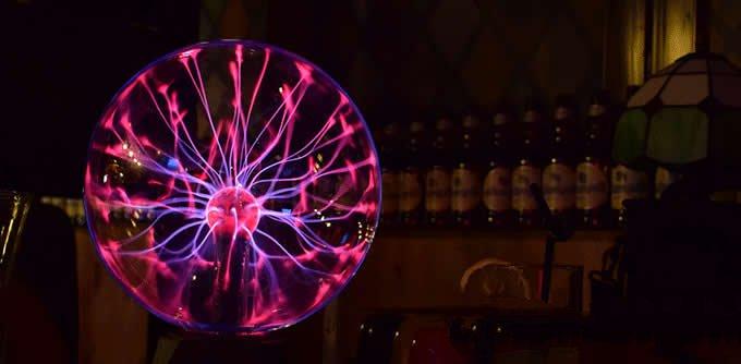 USB Plasma Ball Sphere Magic Light
