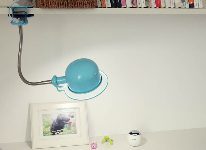 Metal Usb Rechargeable Eye Care Led Desk Lamp Clip On