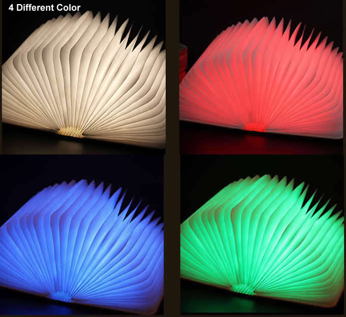 USB Rechargeable Foldable  Night Light