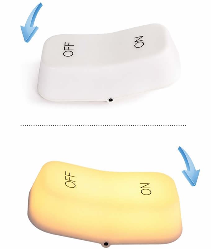 USB Rechargeable ON-OFF Night Lamp