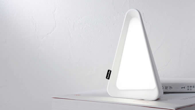 USB Rechargeable Triangle LED Table Lamp