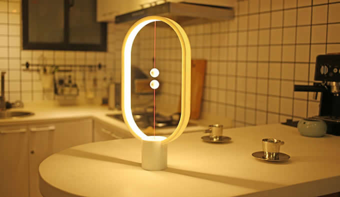 USB powered magnetic mid-air switch  LED lamp