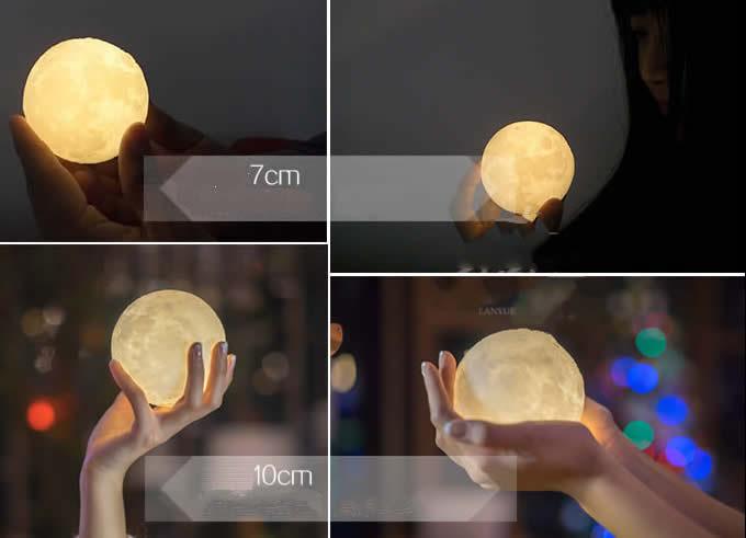 3D Moon Light