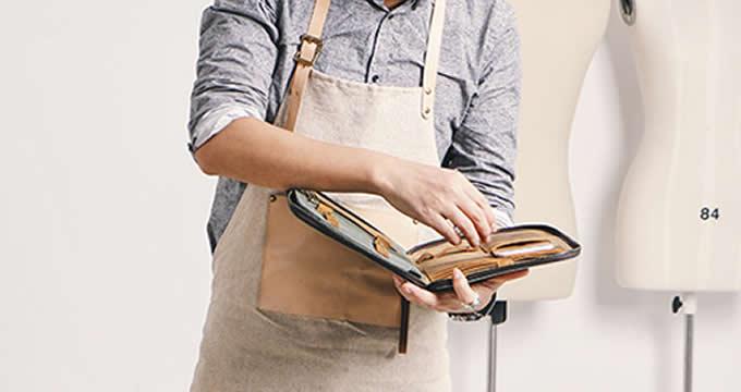 Canvas Business Portfolio Bag Professional Organizer
