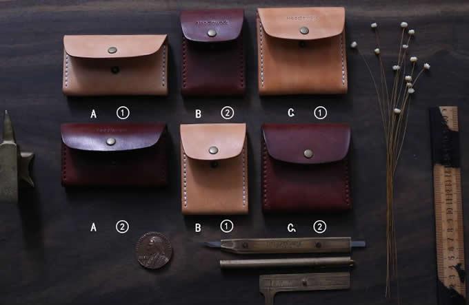 Genuine Leather Cigarette Case