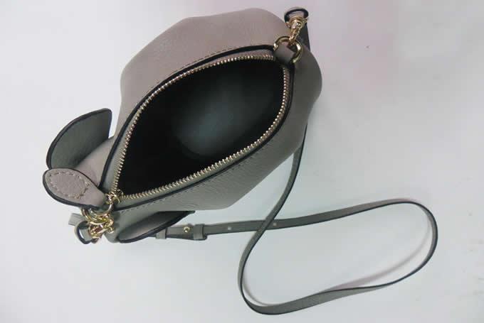 Genuine Leather Elephant Shoulder Bag