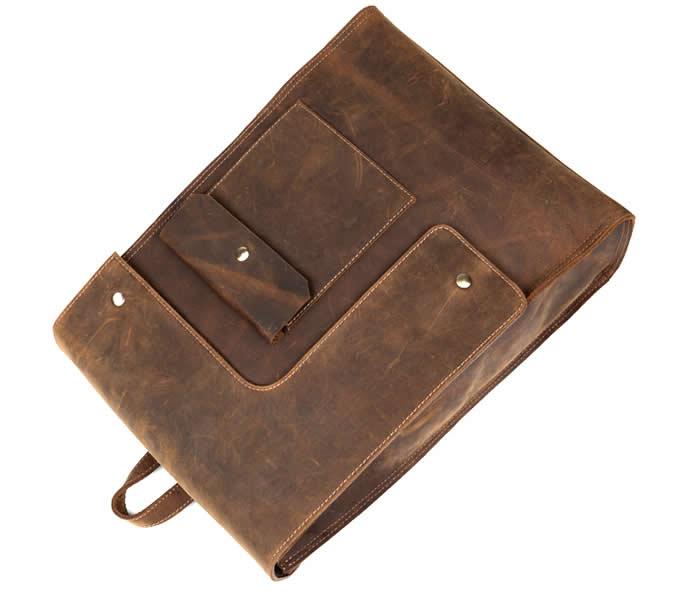 Handmade Genuine Leather Backpack 15