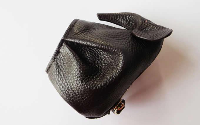 Handmade Leather Elephant Shaped Coin Purse