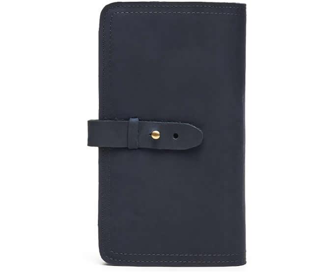 Handmade Leather Multi-Purpose Travel Wallet Card Passport Holder