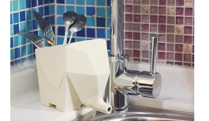 Elephant Flatware Drainer Pen Holder Toothbrush Holder
