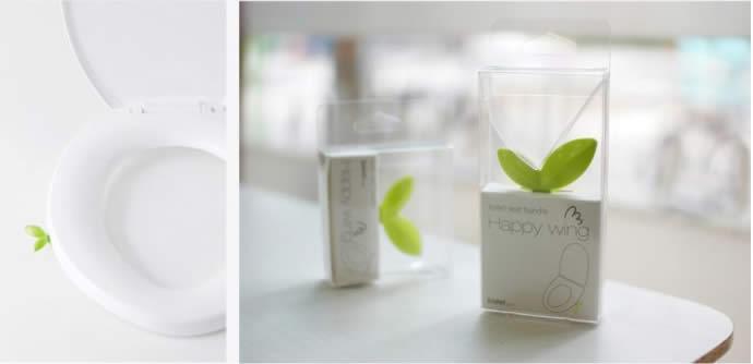 Bidet Toilet Seat >> Plant Sprout Toilet Seat Handle - FeelGift
