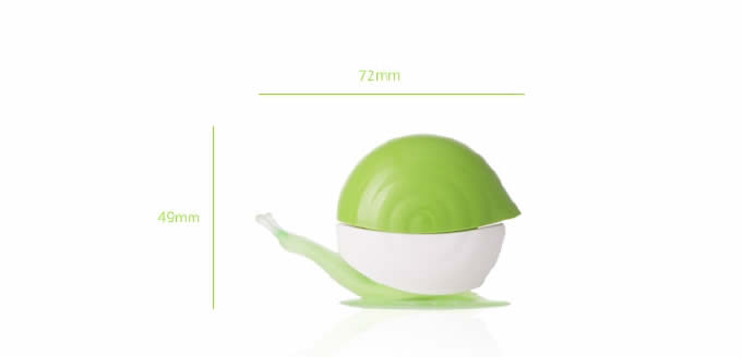 Snail Toothbrush Suction Cup Cover Holder