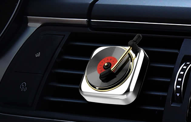 Creative vinyl records disc player Shaped Car Aromatherapy Essential Oil Diffuser