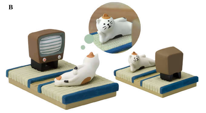 Cute cat spa desk business card holder cell phone holder feelgift cute cat spa desk business card holder cell phone holder reheart Choice Image