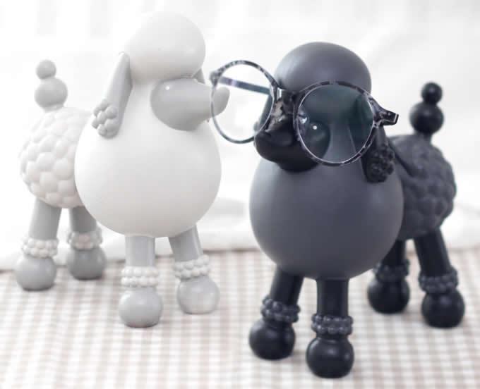 Cute Dog Eyeglass Holder