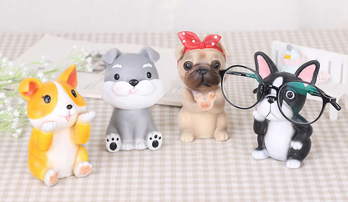 Cute Dog Eyeglass Holder