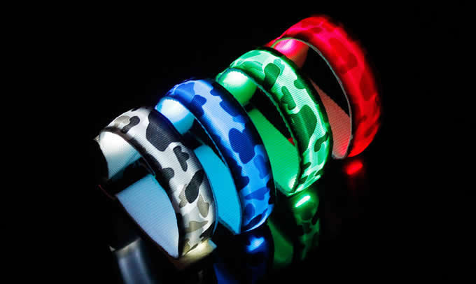 Glowing Arm Band belt