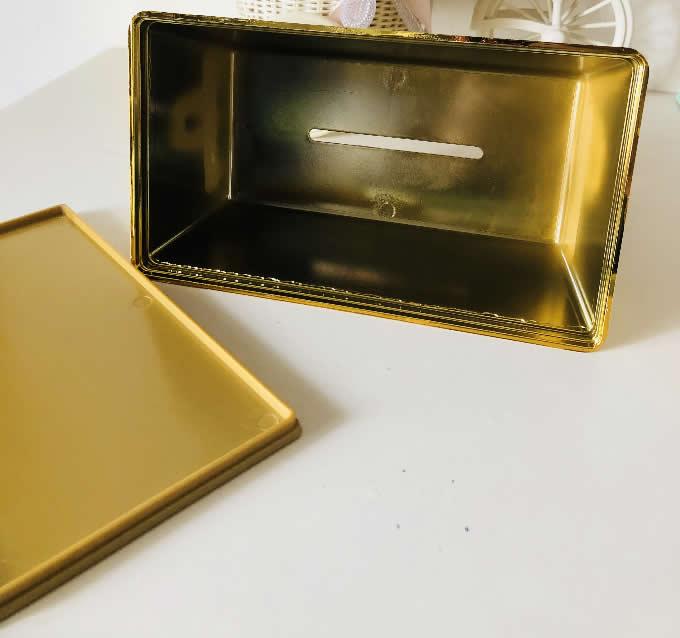 Gold Bullion Bar  Tissue Box
