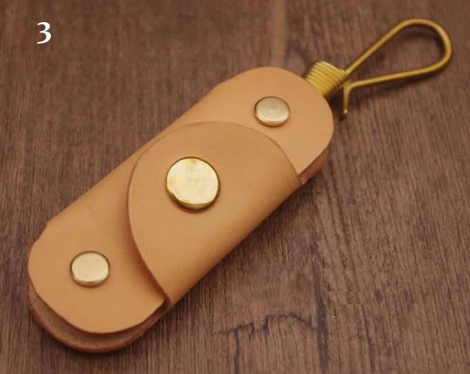 Leather Handmade Minimalist Key Case