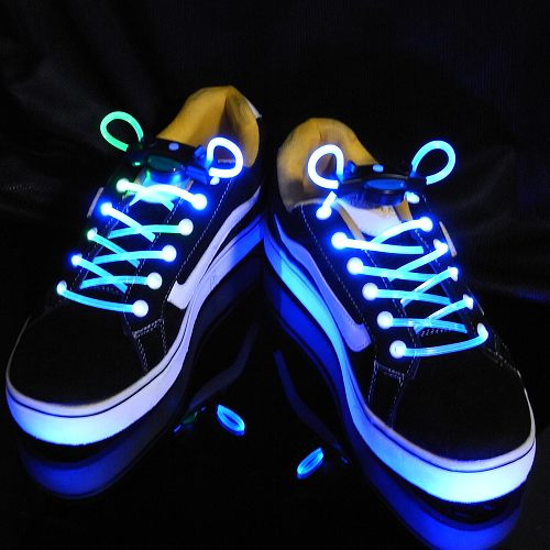 Personalised Gifts,Valentine's Day gifts, LED Flashing Party Shoelaces