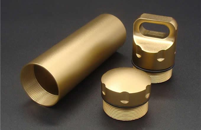Mini Aluminum Cigarette Case Holder with Key Ring