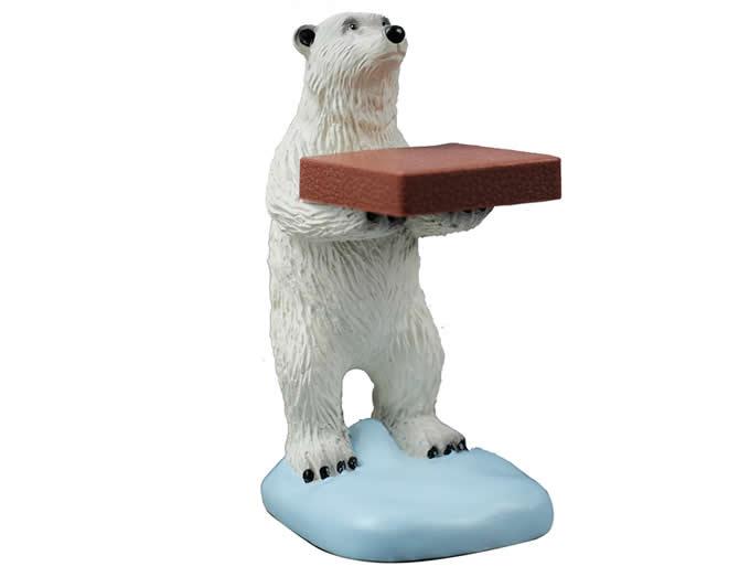 Polar Bear Watch Jewelry Display Stand