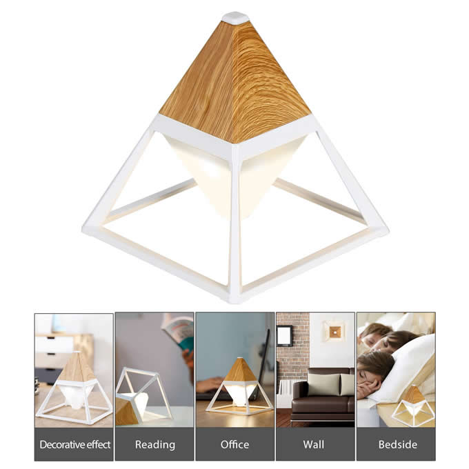 Rechargeable  LED Desk Lamp Touch Control Adjustable Brightness Creative Night Light