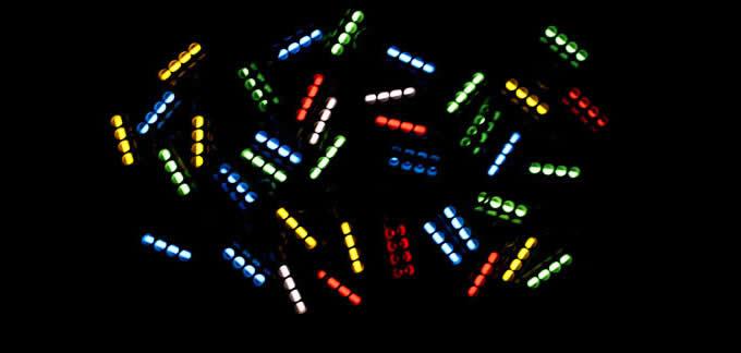 Tritium Nite Self-Luminous Pendant Keychain