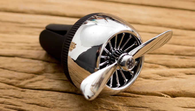 Turbo Prop Engine Shaped Car Air Vent Perfume Diffuser
