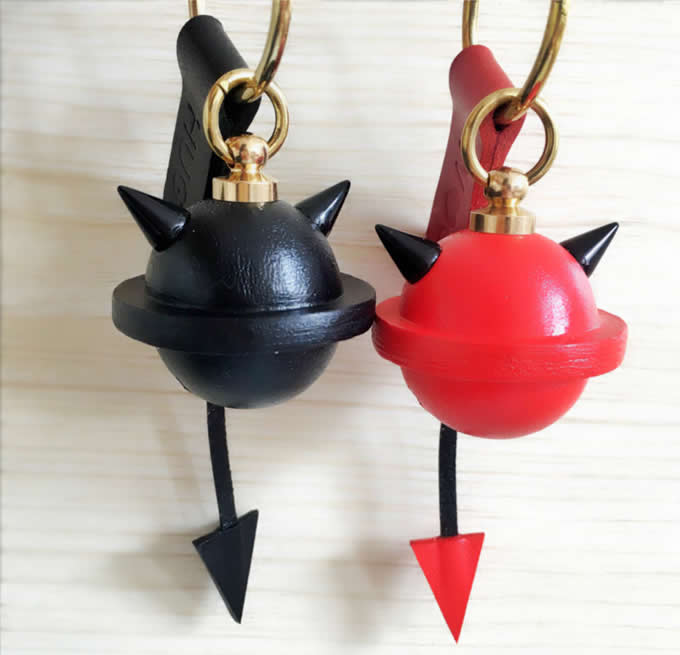 handmade Demon Ox Horns Bell