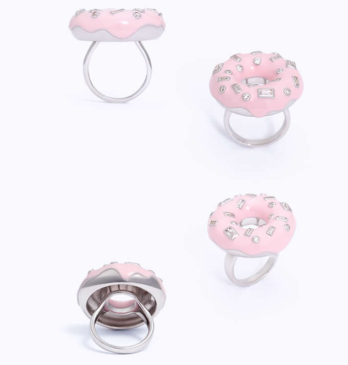Donut Shaped Ring