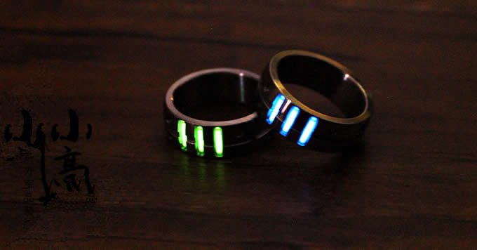 Tritium Nite  Self-Luminous Ring