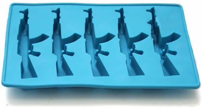 AK-47 Shaped Ice-Cube Tray