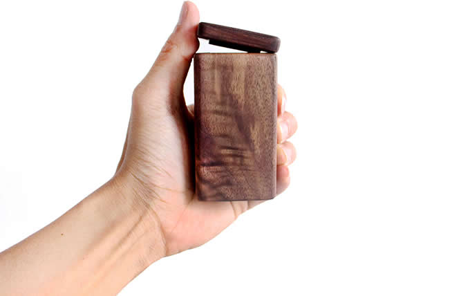 Black Walnut Wooden Toothpick Box Toothpick Case Holder