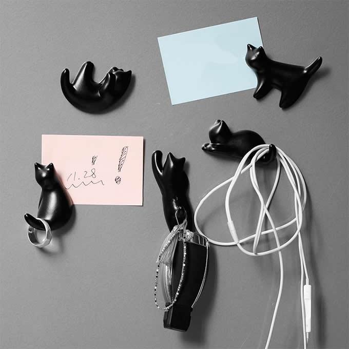 Cat Fridge Magnets Set,Set of 5