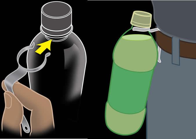 Nite Ize Drink 'N Clip Bottle Holder
