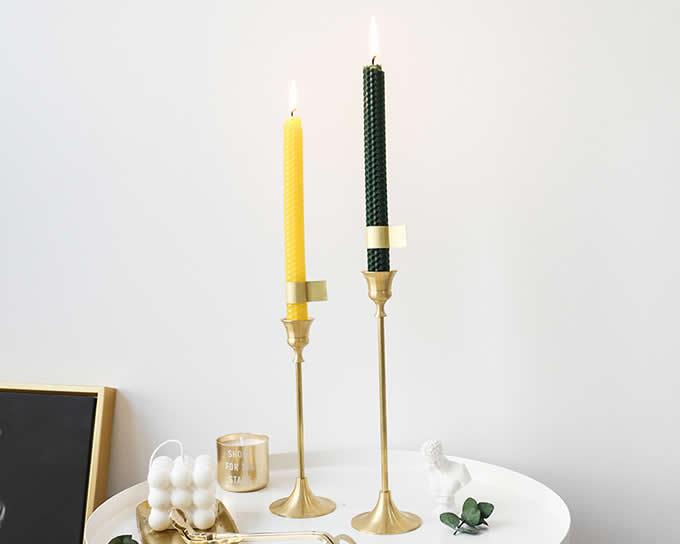 Retro Brass Candle Holder Candlestick Holder