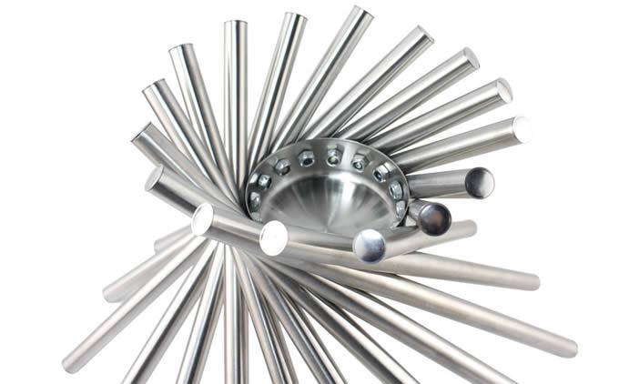 stainless steel modern fruit bowl