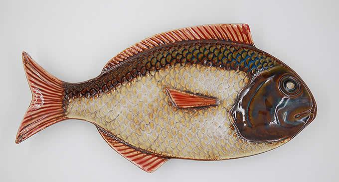 Tropical Fish Porcelain Plate