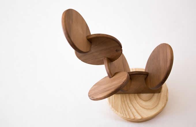 Wooden Cactus Coasters