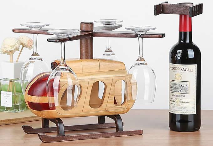 Metal Wine Glass Holder Stemware Rack Drying Stand