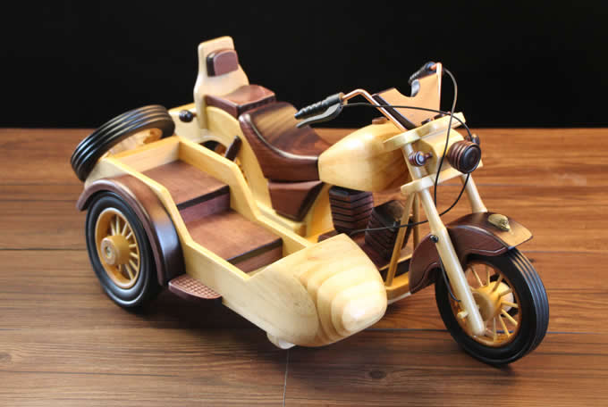 Wooden Motorcycle Wine Bottle Holder Wine Glass Holder Stemware Rack Drying Stand